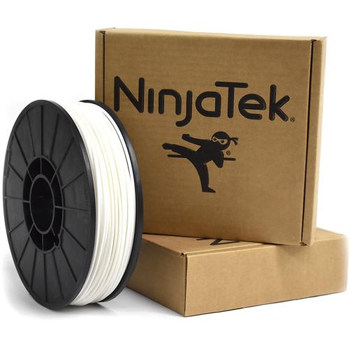 NinjaTek Cheetah 3mm 95A TPU Flexible Filament (1kg, Snow)