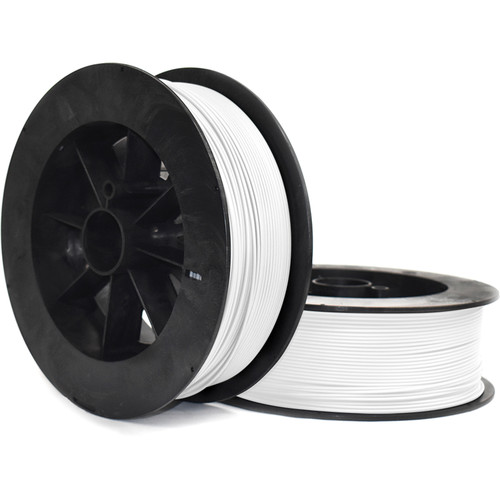 NinjaTek NinjaFlex 3mm 85A TPU Flexible Filament (2kg, Snow)