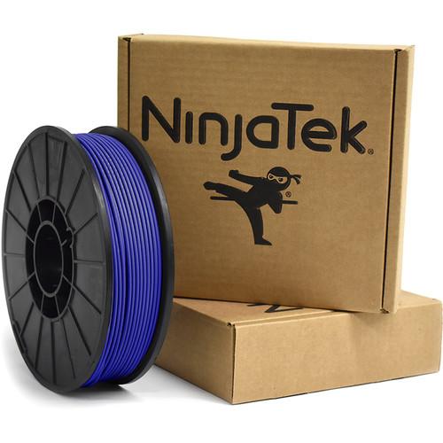 NinjaTek NinjaFlex 3mm 85A TPU Flexible Filament (1kg, Sapphire)