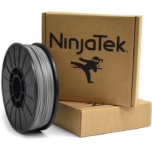 NinjaTek NinjaFlex 1.75mm 85A TPU Flexible Filament (1kg, Steel)