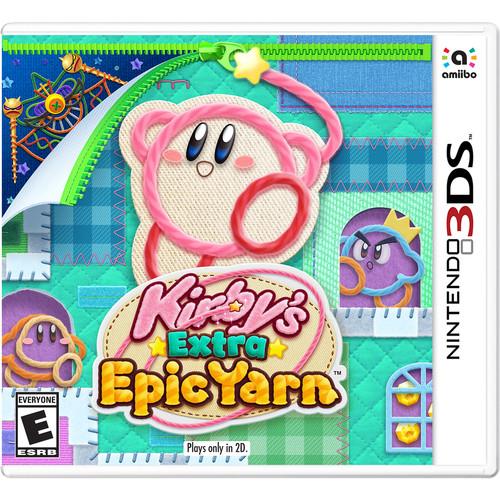 Nintendo Kirby's Extra Epic Yarn (Nintendo 3DS)