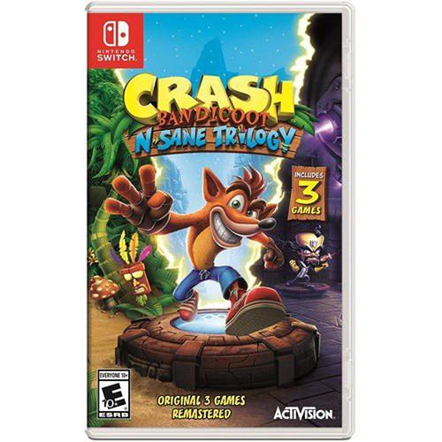 Activision Crash Bandicoot N. Sane Trilogy (Nintendo Switch)