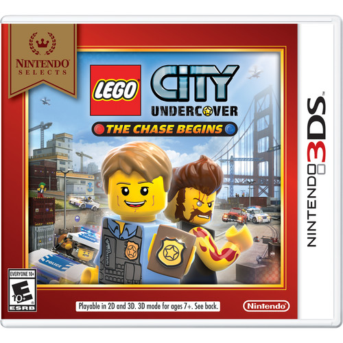 Nintendo Selects: LEGO City Undercover: The Chase Begins (Nintendo 3DS)