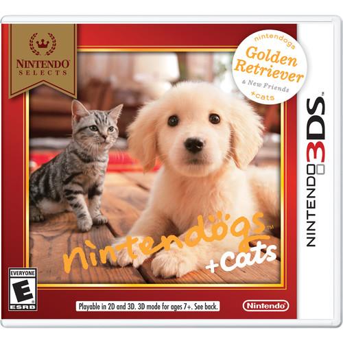 Nintendo Selects: nintendogs + cats: Golden Retriever & New Friends (Nintendo 3DS)