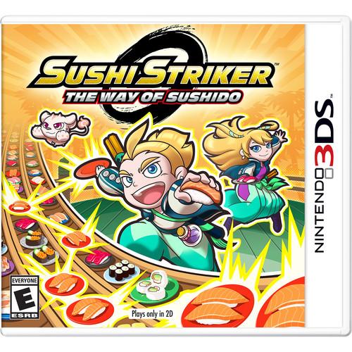 Nintendo Sushi Striker: The Way of the Sushido (Nintendo 3DS)