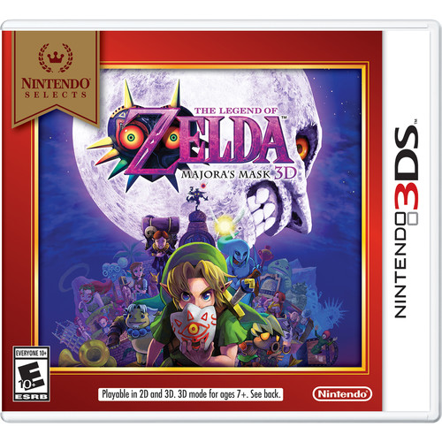 Nintendo Nintendo Selects: The Legend of Zelda: Majora's Mask 3D (Nintendo 3DS)