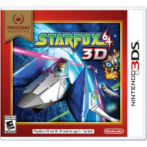 Nintendo Selects: Star Fox 64 3D (Nintendo 3DS)