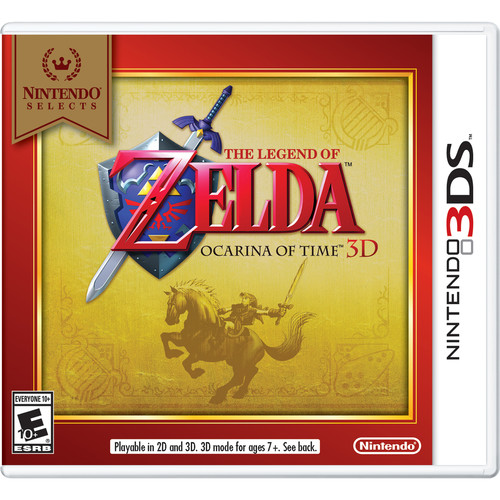 Nintendo Nintendo Selects: The Legend of Zelda: Ocarina of Time 3D (3DS)