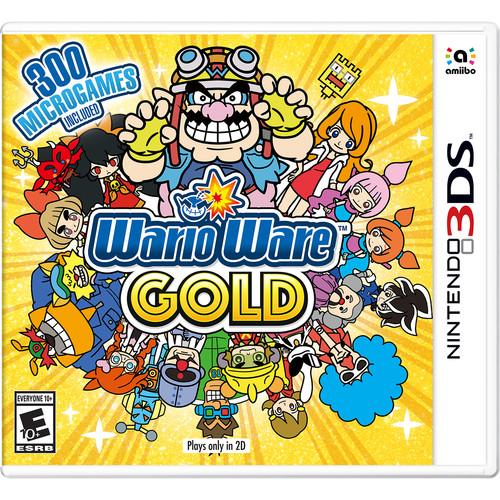 Nintendo WarioWare Gold (Nintendo 3DS)