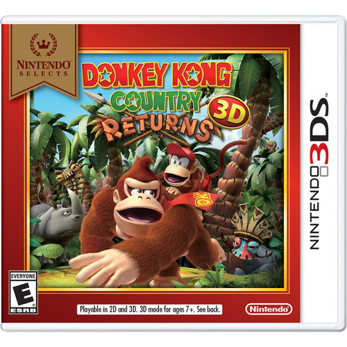 Nintendo Selects: Donkey Kong Country Returns 3D (Nintendo 3DS)