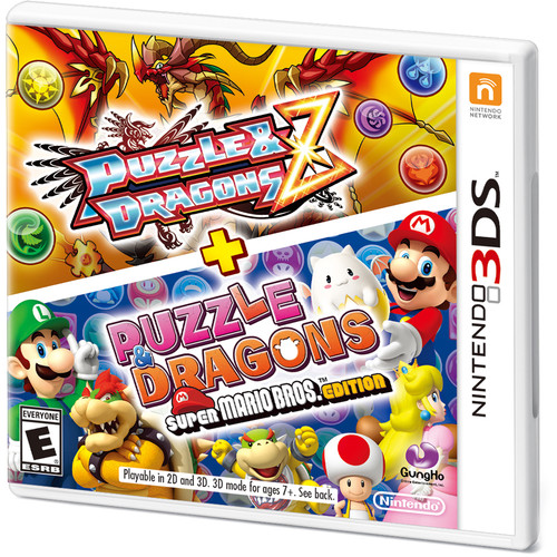 Nintendo Puzzle & Dragons Z and Puzzle & Dragons: Super Mario Bros. Edition (Nintendo 3DS)