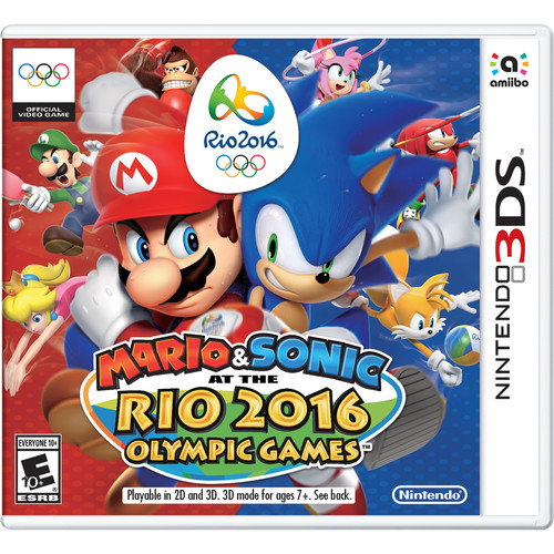 Nintendo Mario & Sonic at the Rio 2016 Olympic Games (Nintendo 3DS)