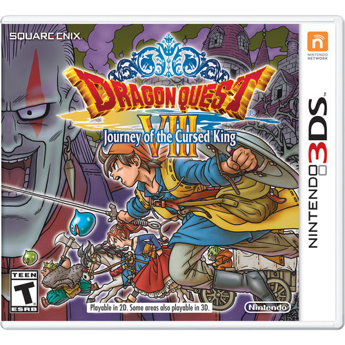 Nintendo Dragon Quest Viii Journey Of The Cursed King