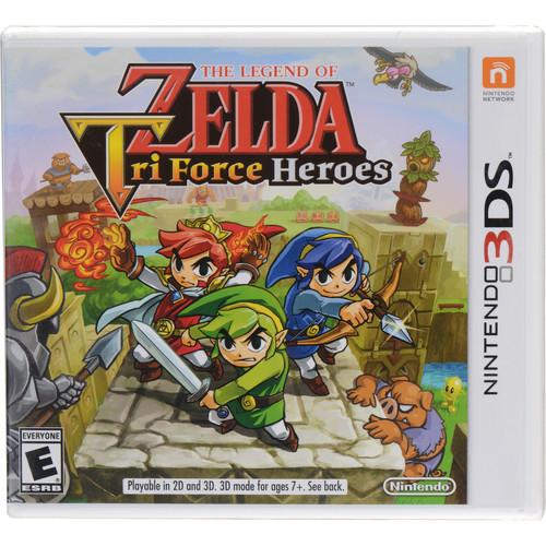 Nintendo The Legend of Zelda: Tri Force Heroes (Nintendo 3DS)