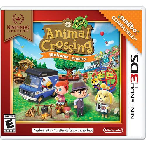 Nintendo Selects: Animal Crossing: New Leaf - Welcome amiibo (Nintendo 3DS)