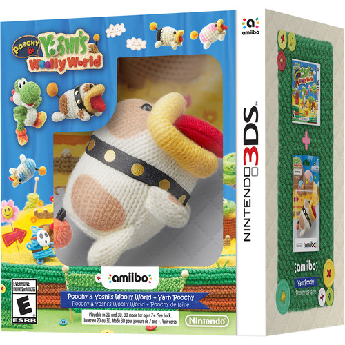 Nintendo Poochy & Yoshi's Woolly World amiibo Bundle (3DS)