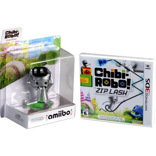 Nintendo Chibi-Robo! Zip Lash Bundle (Nintendo 3DS)