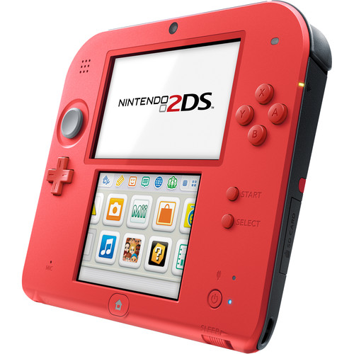 Nintendo 2DS with Mario Kart 7 (Crimson Red)