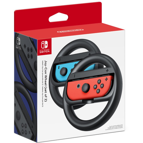 Nintendo Joy-Con Wheel (2-Pack, Black)
