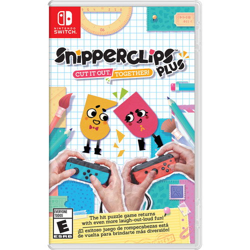 Nintendo Snipperclips Plus - Cut it out, together! (Nintendo Switch)