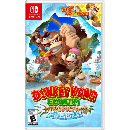 Nintendo Donkey Kong Country: Tropical Freeze (Nintendo Switch)