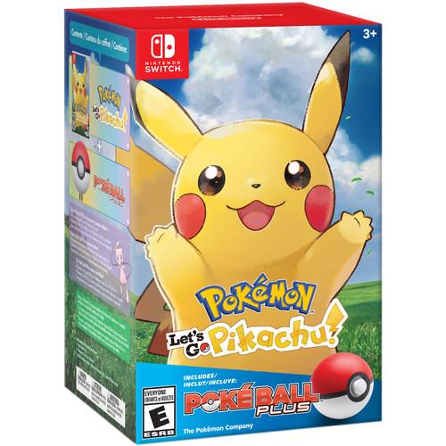 Nintendo Pokémon: Let's Go, Pikachu! + Poké Ball Plus Pack (Nintendo Switch)