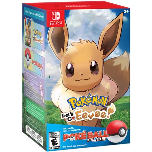 Nintendo Pokémon: Let's Go, Eevee! + Poké Ball Plus Pack (Nintendo Switch)