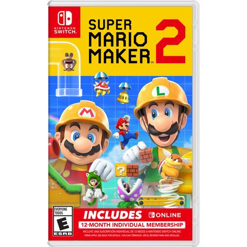 Nintendo Super Mario Maker 2 + Nintendo Switch Online Bundle (Nintendo Switch)
