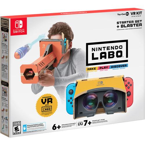 Nintendo Labo Toy-Con 04 VR Kit Starter Set + Blaster (Nintendo Switch)