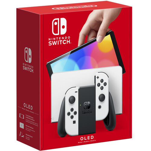 Nintendo Switch OLED Model (White Joy-Con, White Dock)