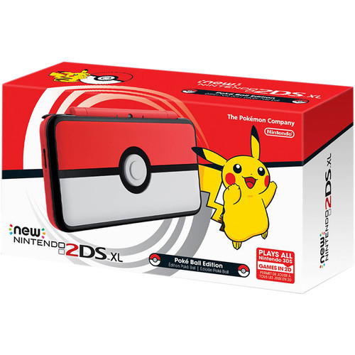 Nintendo 2DS XL Handheld Gaming System (Pokeball Edition)