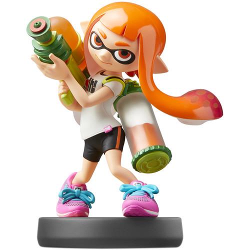 Nintendo Inkling Girl amiibo Figure (Splatoon Series)