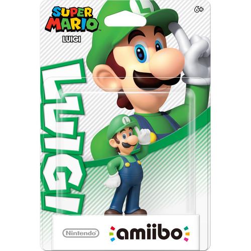 Nintendo Luigi amiibo Figure (Super Mario Series)