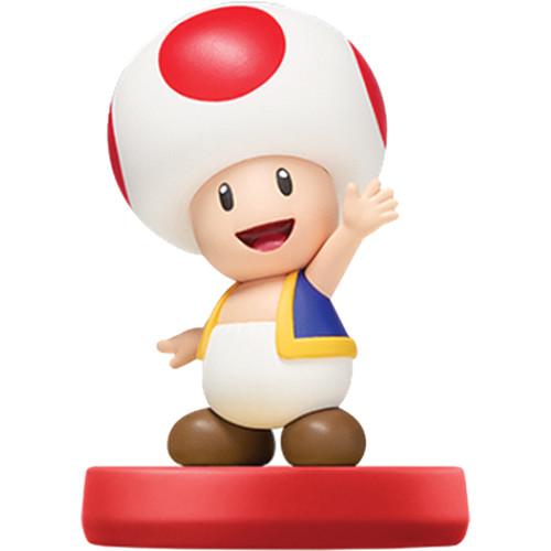 Nintendo Toad amiibo Figure (Super Mario Series)