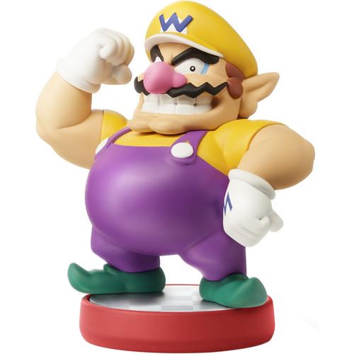Nintendo Wario amiibo Figure (Super Mario Series)