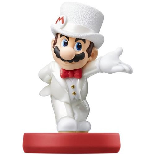 Nintendo Mario (Wedding Outfit) amiibo Figure (Super Mario Odyssey Series)