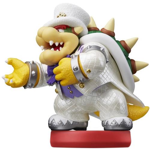 Nintendo Bowser (Wedding Outfit) amiibo Figure (Super Mario Odyssey Series)