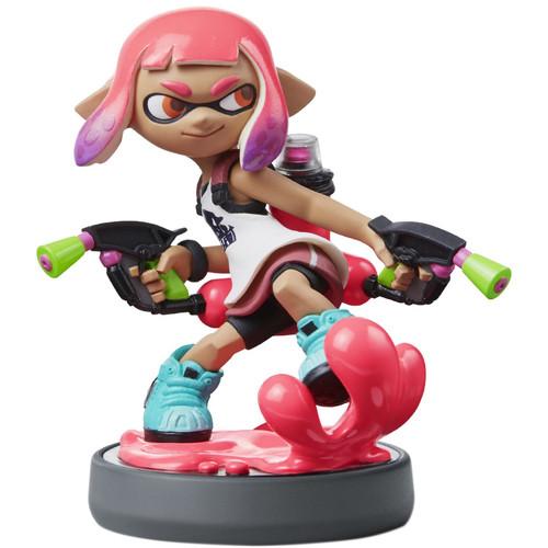 Nintendo Inkling Girl (Neon Pink) amiibo Figure (Splatoon Series)