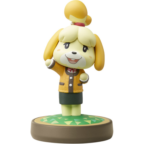 Nintendo Isabelle - Winter Outfit amiibo Figure (Animal Crossing Series)