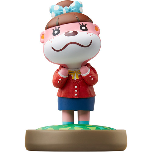 Nintendo Lottie amiibo Figure (Animal Crossing Series)