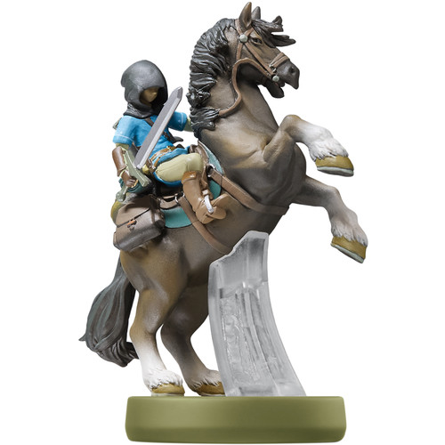 Nintendo Link (Rider) amiibo Figure (The Legend of Zelda: Breath of the Wild Series)
