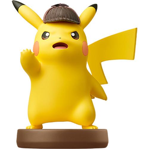 Nintendo Detective Pikachu amiibo Figure