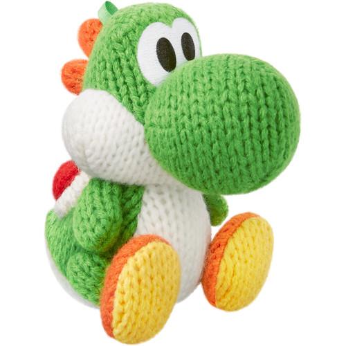 Nintendo Green Yarn Yoshi amiibo Figure (Yoshi's Woolly World Series)