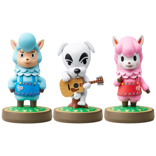 Nintendo Animal Crossing Series 3-Pack amiibo