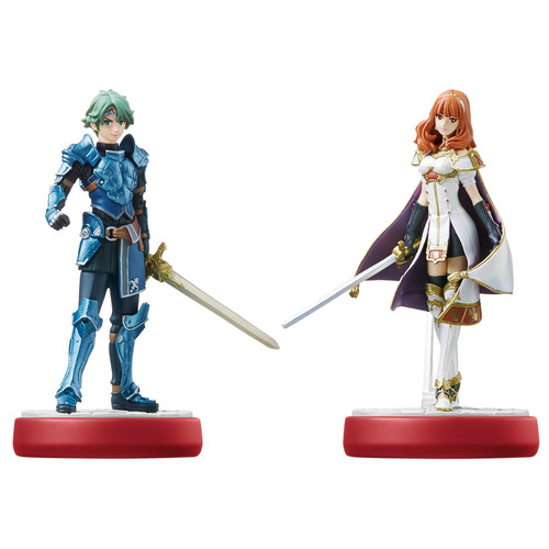 Nintendo Alm and Celica amiibo Figures (Fire Emblem Series)