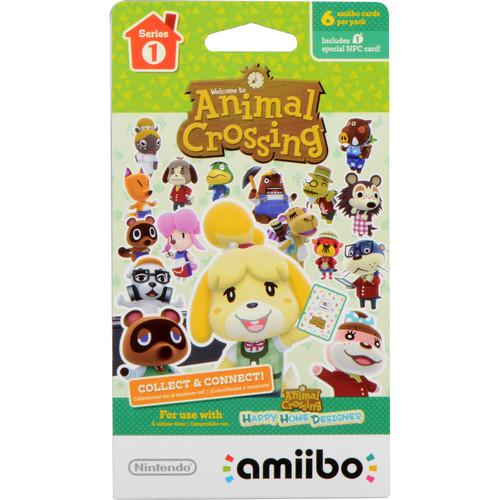 Nintendo Animal Crossing amiibo Cards Series 1 (6-Pack)