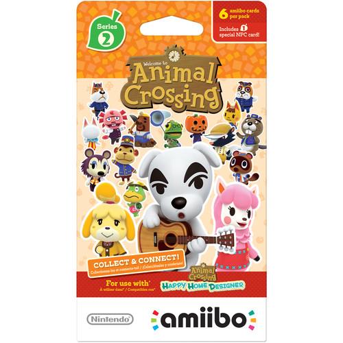 Nintendo Animal Crossing amiibo Cards Series 2 (6-Pack)