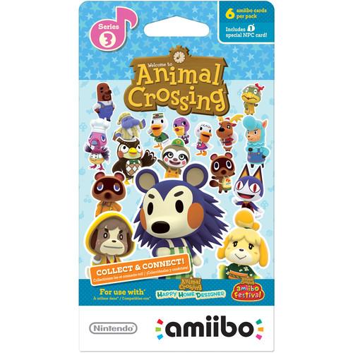 Nintendo Animal Crossing amiibo Cards Series 3 (6-Pack)