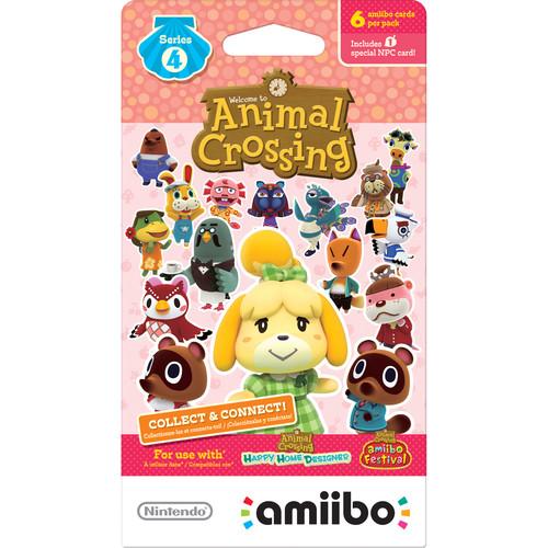 Nintendo Animal Crossing amiibo Cards Series 4 (6-Pack)