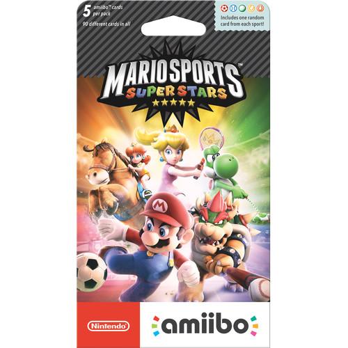 Nintendo Mario Sports Superstars amiibo Cards (5-Pack)